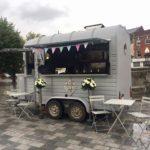 Casterley Barn wedding venue partner - Sam and the Frying Machine